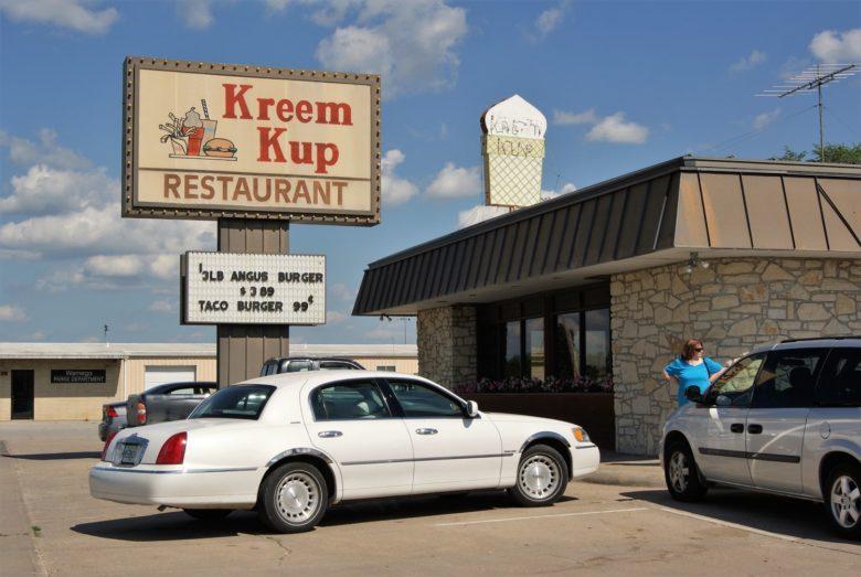 Culinary Time Warp:  The Kreem Kup in Wamego, Kansas