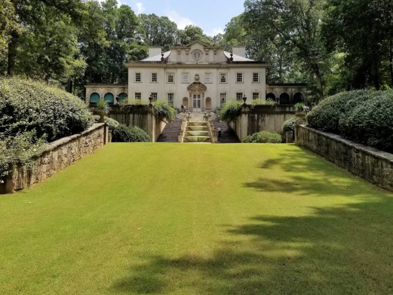 Circa 1920s Elegance:  A Walk Through Atlanta's Swan House