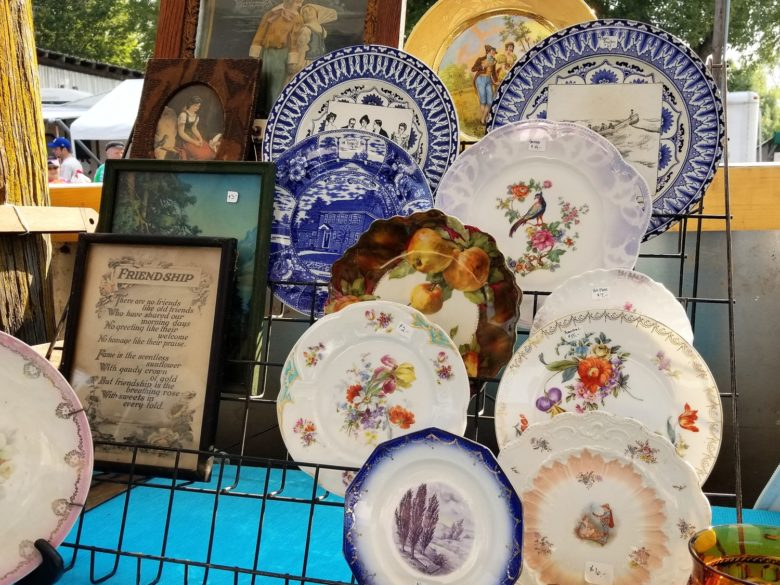 Treasure Hunting at the Sparks Antiques and Collectibles Flea Market