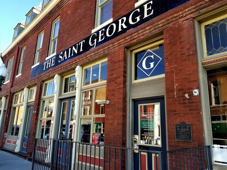 The Saint George Hotel in Weston